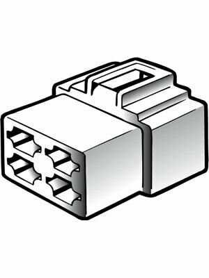 Narva 4 Way Female Quick Connector Housing Pack of 10 (56264)