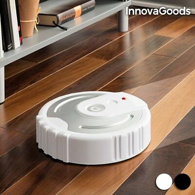 InnovaGoods Robot Floor Cleaner dust dirt Includes 40 microfibre clothes
