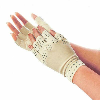 Newly Therapeutic Arthritic Magnetic Anti Arthritis Therapy Fingerless Gloves 1x