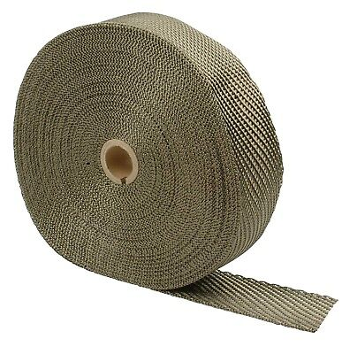 "Titanium Exhaust Heat Wrap  2"" x 50' - Design Engineering 010127 - LR Technology"