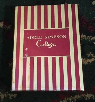 Adele Simpson Collage Perfume Atomizer With Refill In Box