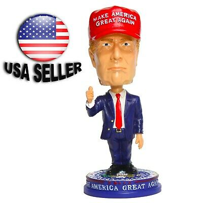 MAGA PRESIDENT DONALD TRUMP   BOBBLE HEAD BOBBLEHEADS 7 1/4 inches