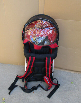 f2e3f30d812 Chicco Smart Support Child Baby Hiking Walking Travel Backpack Carrier Red  10960