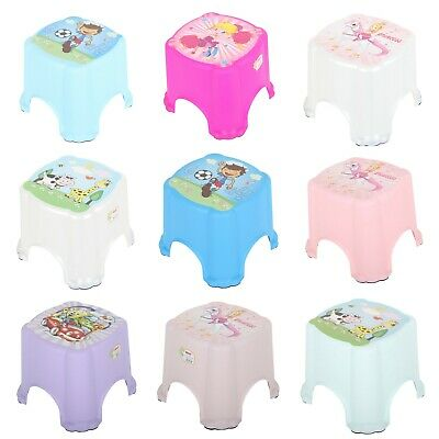Kids Children Toddler Plastic Step Stool, Anti-Slip Leg, Toilet Potty Training.