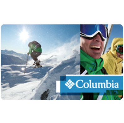 $100 Columbia gift card for only $90 - Via Email Delivery
