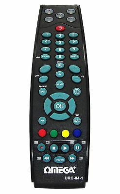 OMEGA 5 in 1 Universal Remote Control for TV SKY VCR AUDIO DVD Player Freeview