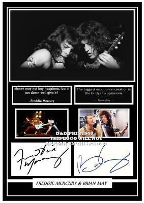 167. Queen Freddie Mercury  Signed   Photograph