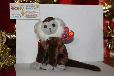 "Ty 2.0 Beanie Babyjungle The Monkey-6""-Unused Code-2008-Mwnmt-Nice Gift"