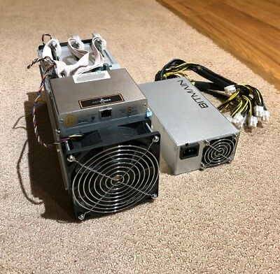 Bitmain Antminer S9 **13.5 TH/s** with APW3++ PSU **IN HAND Ships Immediately**