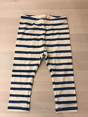 Billieblush Baby Leggings 12 Months Cream And White Stripe