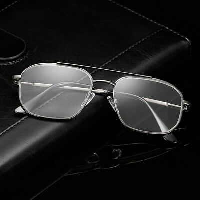 Vintage Aviator Reading Glasses Mens Womens Classic Metal Readers Retro +1.0~4.0