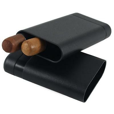 Le Tube 3 Finger Crushproof Airtight Cigar Case Travel Humidor By Cigarextras