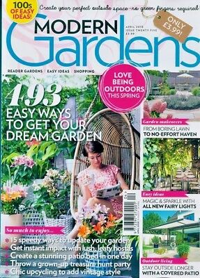 Modern Gardens Magazine April 2018 ~ New ~
