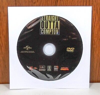 Straight Outta Compton - Disc Only (DVD) Out of