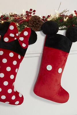 Brand New With Tags Primark Disney Mickey & Minnie Mouse Christmas Stockings