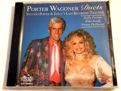 Brand New CD ~ Porter Wagoner Duets with Dolly Parton * Pam Gadd & Penny DeHaven