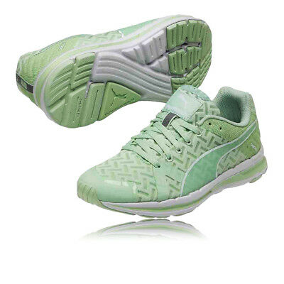 Puma Faas 300 S v2 Run Cool Womens Green Running Sports Shoes Trainers  Sneakers 3bcebd243