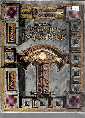 Expanded Psionics Handbook Dungeon and Dragons Roleplaying Game