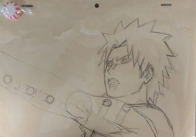 Original Anime Production Genga not Cel from Naruto Shippuden of Pain