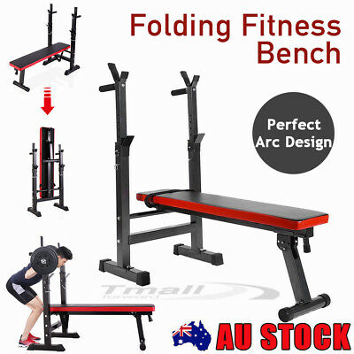 Adjustable Incline Press Home Gym Fitness Weight Bench Lifting Strength Training
