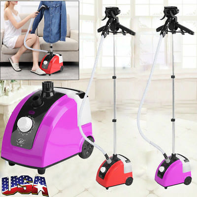 Standing Garment Clothes Fabric Steamer Iron Steam Wrinkle Remove Garment Hanger