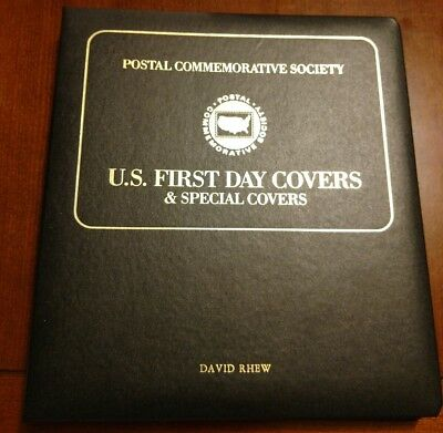 Postal Commemorative Society U.s. First Day Covers 1991-Apr-Oct Album +20 Covers