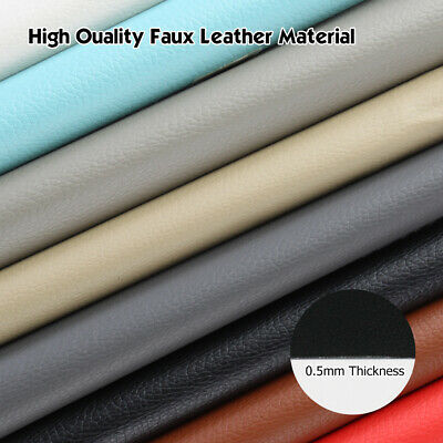 "54""W Vinyl Fabric Upholstery Faux Leather Automotive Boat Marine Outdoor Replace"