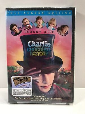 Charlie and the Chocolate Factory2005 PG DVD
