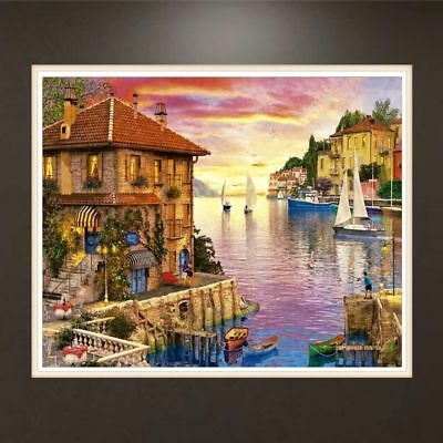 Lakeside House DIY 5D Full Diamond Painting Embroidery Cross Stitch Home Decor