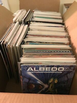Long Box Misc Comic Books 300 Mixed Lot Pictured Image Dc Marvel Valiant