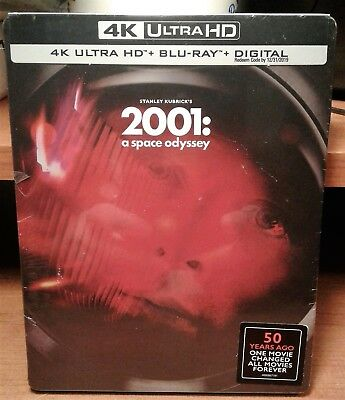 2001: A Space Odyssey [Steelbook] (4K+2 Blu-ray Discs+Digital) New and Sealed!!!