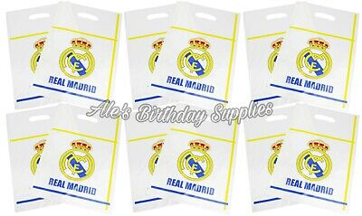 Real Madrid Party Birthday Set 54 Pcs Decoration Plates Cups