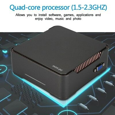 Mini PC For Windows10 Dual Band 32G/64G Quad Core 64bit 1000Mbps WiFi Bluetooth