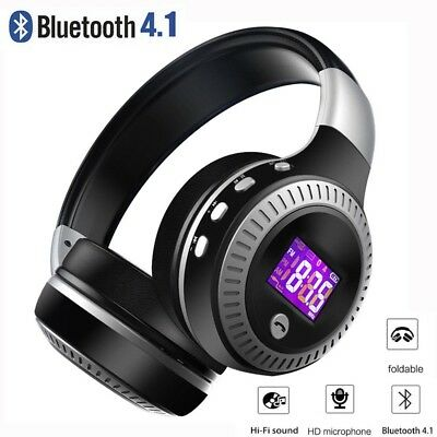 Foldable BlTurbine Hurricane HT Bluetooth 4.1 Wireless Stereo Headphones Headset