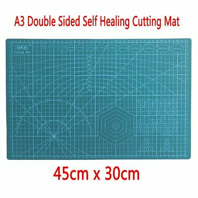 45x30CM A3 Double Sided Self Healing Rotary Knife Cutting Mat Paper Cut Board DL