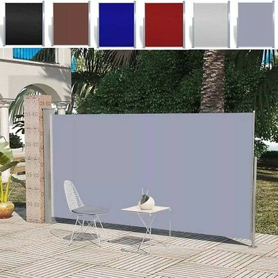 Patio Terrace Side Awning Automatic Roll-back Garden Shade Sunshade 6 Colors HOT