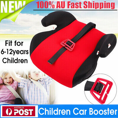 Portable Car Booster Seat Pad Mat Safe Sturdy Baby Kid Children 3-12 Years AU