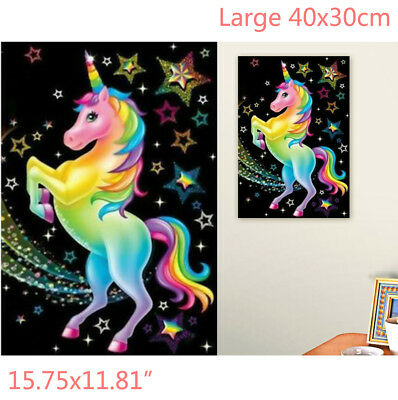 DIY 5D Diamond Painting Crystal Rhinestone Embroidery Pictures Arts Deco 40x30cm