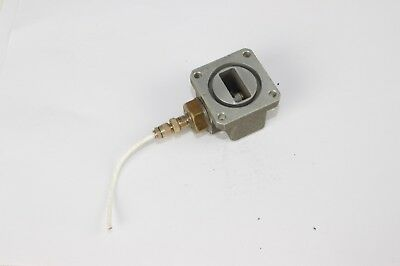 Adapter of Amphenol 46025 to WR-90 waveguide 8.2-12.4 GHz