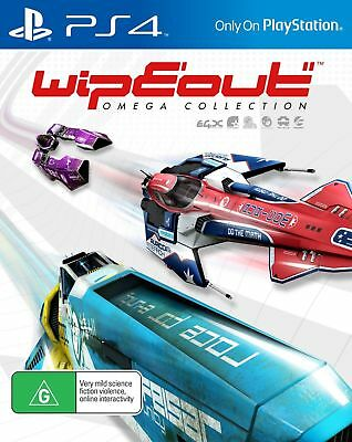 Wipeout Omega Collection PlayStation 4 PS4 Brand New Sealed Game FAST DISPATCH