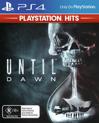 Until Dawn PlayStation Hits PlayStation 4 PS4 Brand New Game