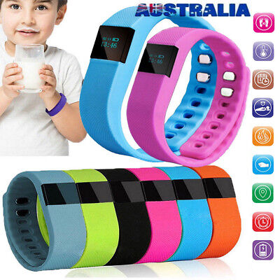 Children Smart Band Watch Activity Tracker Kids Pedometer Fitness Step Counter