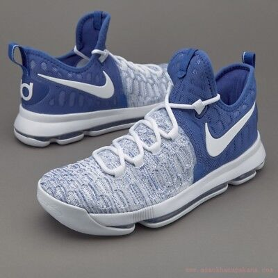 8aa70a64e5c Nike Zoom KD 9 IX Home Kentucky White Blue Size 10.5. 843392-411 jordan