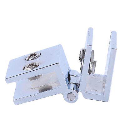 Glass Shower Doors Hinge Cupboard Showcase Cabinet Wall-to-Glass Z