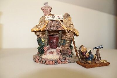 Boyd's Bears Bearly-Built Villages Construction Company w/ ACCESSORIES