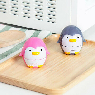 Penguin Shaped Timer 60 Minutes Mechanical Kitchen Novelty Fun Alarm Cook Tool Z