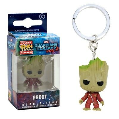 Funko Pocket Pop Keychain: Guardians of the Galaxy Vol. 2 - Groot Bobble-Head