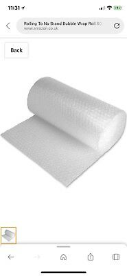 500MM x 100M bubble Wrap. PLEASE MESSAGE ME ON THIS!