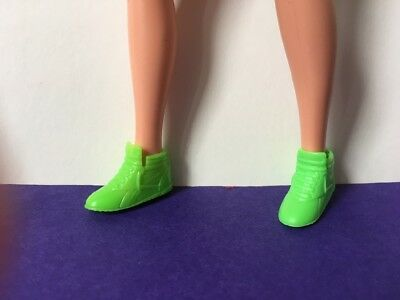 Sindy 1990 Paint Picture green trainer boot shoe fit Barbie big feet SHIMMYSHIM