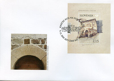 Slovenia 2018 FDC Benko's House 1v M/S Cover Houses Architecture Stamps
